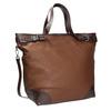 Kabelka ve stylu Tote Bag bata, hnědá, 961-3206 - 13