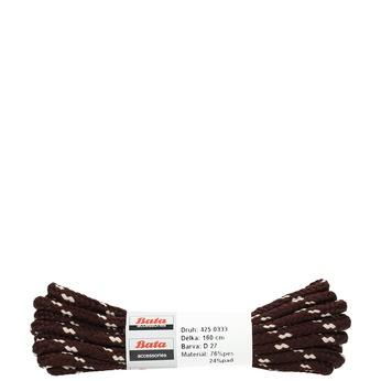 Kulaté tkaničky bata, hnědá, 901-4162 - 13