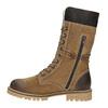Dámská zimní obuv s kožíškem weinbrenner, hnědá, 593-8476 - 15