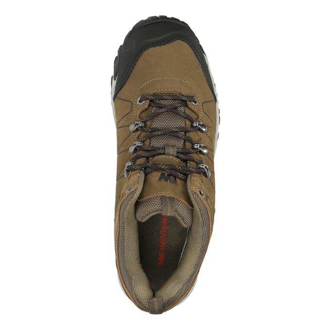 Pánská kožená Outdoor obuv weinbrenner, hnědá, 846-4600 - 19