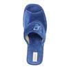 Dámská domácí obuv bata, modrá, 679-9606 - 19