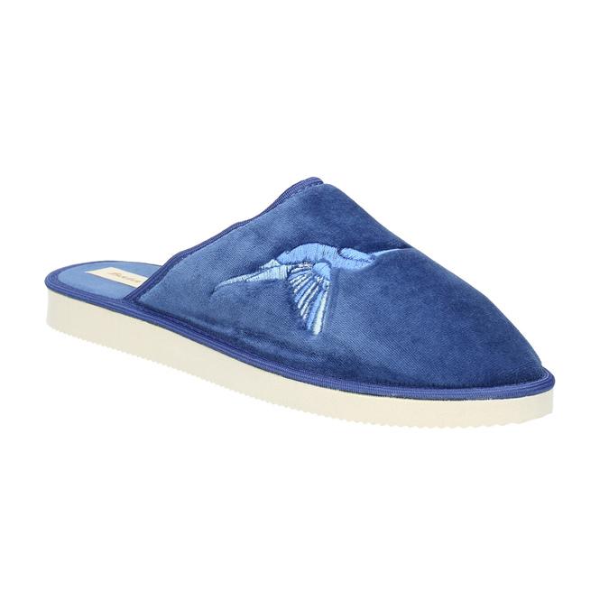 Modré domácí pantofle dámské bata, modrá, 579-9608 - 13
