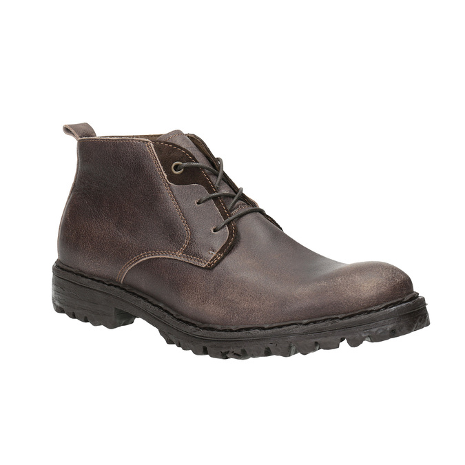 Pánská kotníčková obuv weinbrenner, hnědá, 846-4603 - 13