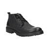 Kožená kotníčková obuv weinbrenner, černá, 844-6603 - 13