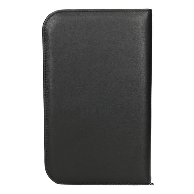 Kožená manikúra bata, černá, 944-6205 - 16