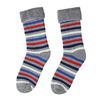 Teplé dětské ponožky bata, šedá, 919-2434 - 26