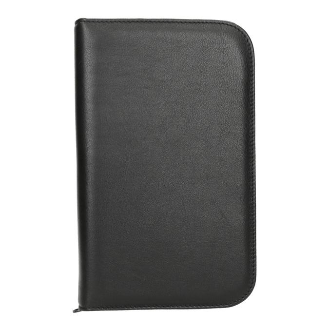 Kožená manikúra bata, černá, 944-6205 - 26