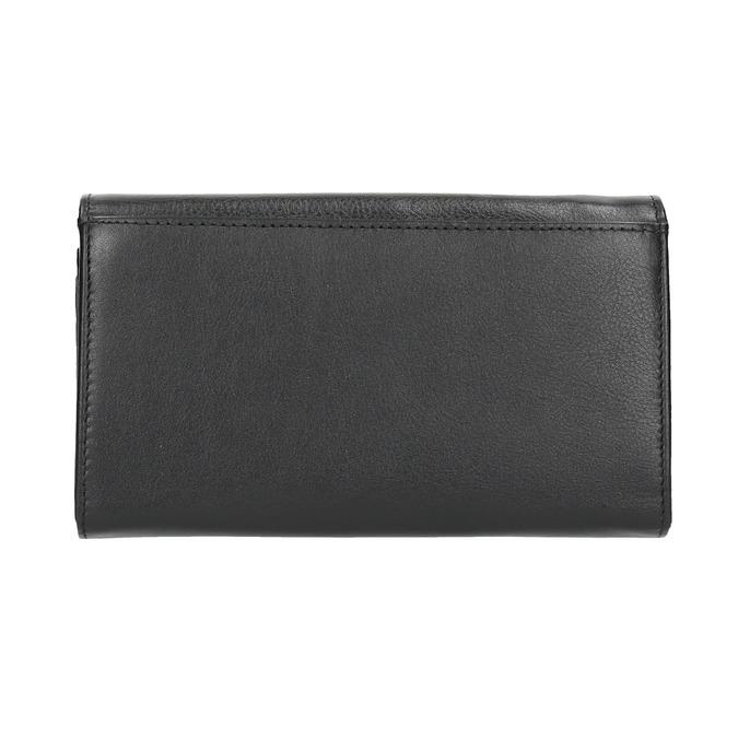 Dámská kožená peněženka bata, černá, 944-6357 - 19