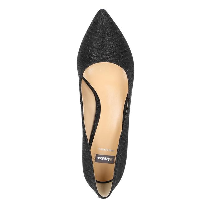 Elegantní lodičky na nízkém podpatku bata, černá, 629-6631 - 19