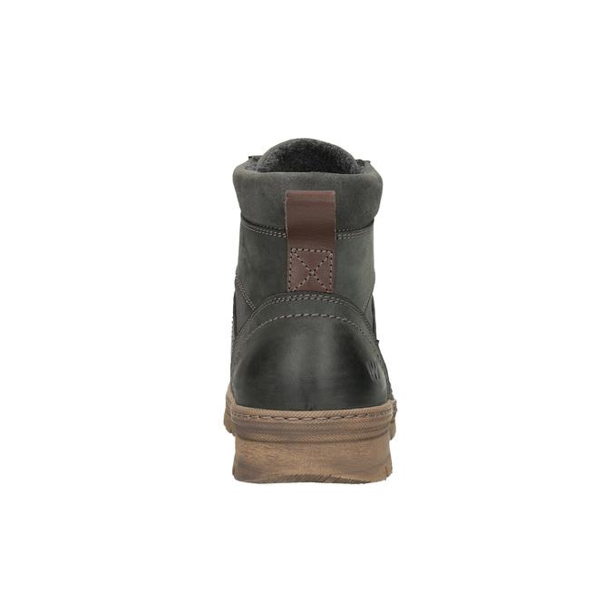 Pánská zimní obuv weinbrenner, šedá, 896-2109 - 17