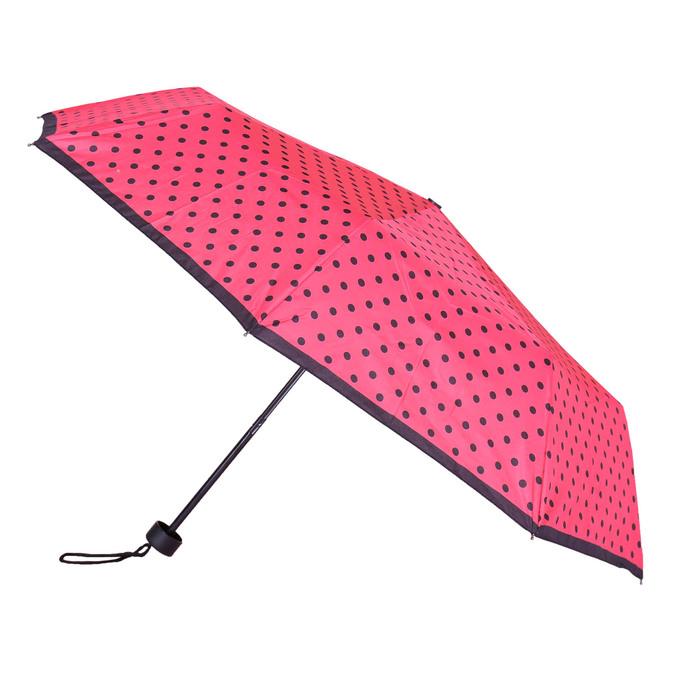 Skládací deštník s puntíky bata, růžová, 909-5601 - 13
