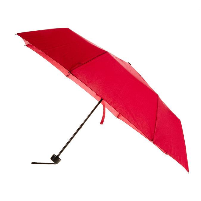 Červený skládací deštník bata, červená, 909-5600 - 13