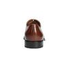 Kožené Oxford polobotky s Brogue zdobením bata, hnědá, 826-3811 - 17
