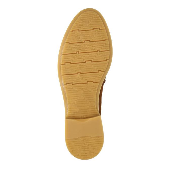 Dámské kožené Loafers bata, 2020-516-4603 - 26