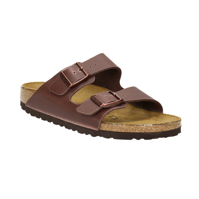 Dětská domácí obuv birkenstock, hnědá, 361-4015 - 13
