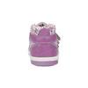 Dívčí kotníčková obuv s kytičkami bubblegummers, fialová, 2020-121-9612 - 17