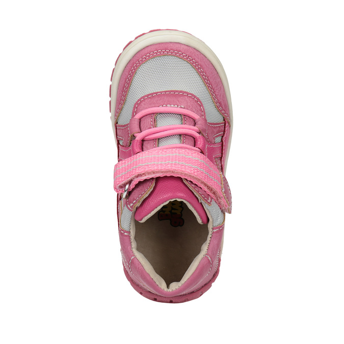 Dětská kotníčková obuv růžová bubblegummers, růžová, 121-5615 - 19