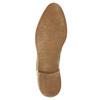 Kožené kotníčkové kozačky s pružnými boky bata, béžová, 596-4652 - 26
