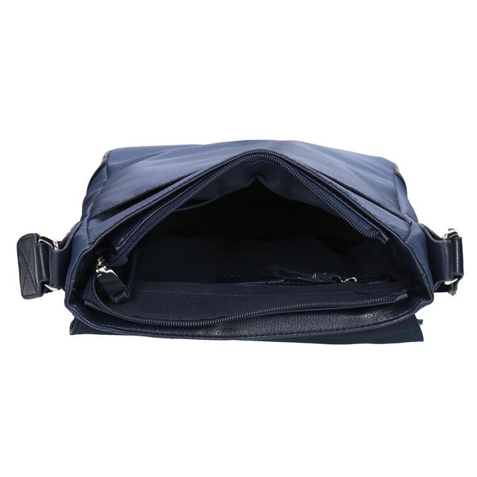 Pánská taška ve stylu Crossbody bata, modrá, 961-9508 - 15