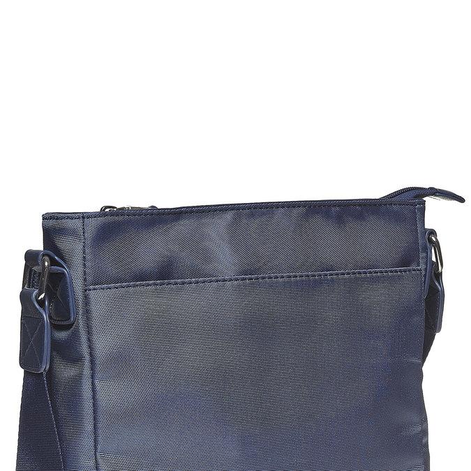 Pánská taška ve stylu Crossbody bata, modrá, 961-9508 - 17