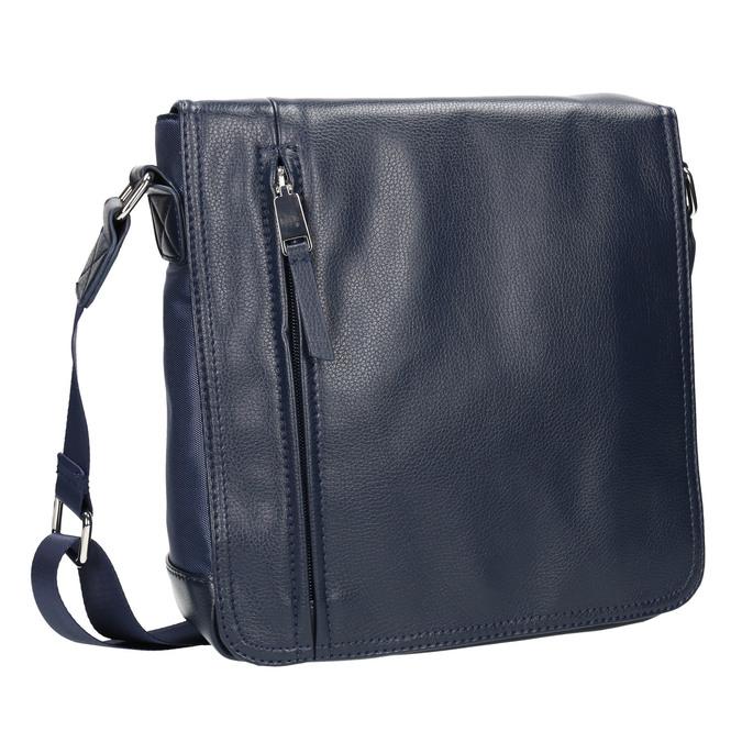 Pánská taška ve stylu Crossbody bata, modrá, 961-9508 - 13