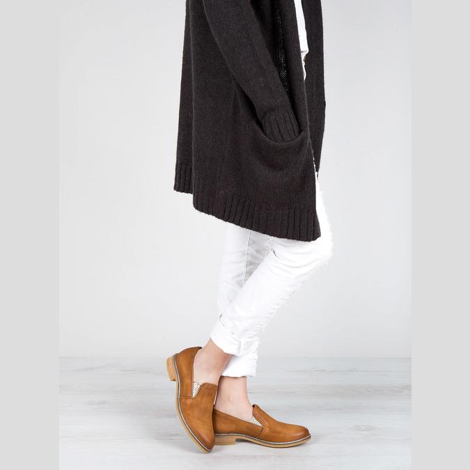Dámské kožené Loafers bata, 2020-516-4603 - 18