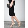 Zlaté kožené sandálky bata, zlatá, 2020-728-8644 - 18