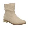 Dámské kotníčkové kozačky bata, béžová, 599-8614 - 13