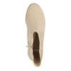 Dámské kotníčkové kozačky bata, béžová, 599-8614 - 19