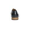 Modré kožené polobotky bata, modrá, 826-9794 - 17