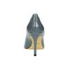 Kožené lodičky na jehlovém podpatku insolia, modrá, 728-9642 - 17