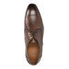 Hnědé kožené polobotky bata, hnědá, 826-4796 - 19