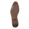 Kožené pánské Ombré polobotky bata, šedá, 826-2794 - 26