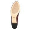 Lakované dámské Loafers bata, červená, 518-5600 - 26