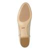 Lakované dámské Loafers bata, béžová, 518-8600 - 26