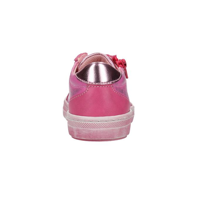 Kožené dětské tenisky mini-b, růžová, 226-5600 - 17