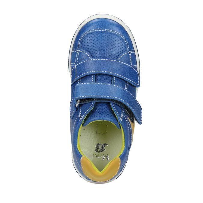 Dětské kožené tenisky mini-b, modrá, 2020-214-9600 - 19