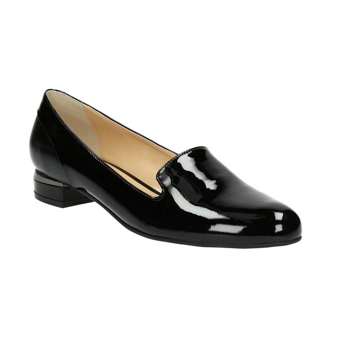 Lakované dámské Loafers bata, 2021-518-6600 - 13