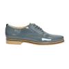 Dámské kožené polobotky bata, modrá, 2021-528-9634 - 15