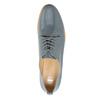 Dámské kožené polobotky bata, modrá, 2021-528-9634 - 19