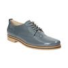 Dámské kožené polobotky bata, modrá, 2021-528-9634 - 13