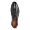 Kožené polobotky s pruhovanou podešví bata, černá, 826-6790 - 19