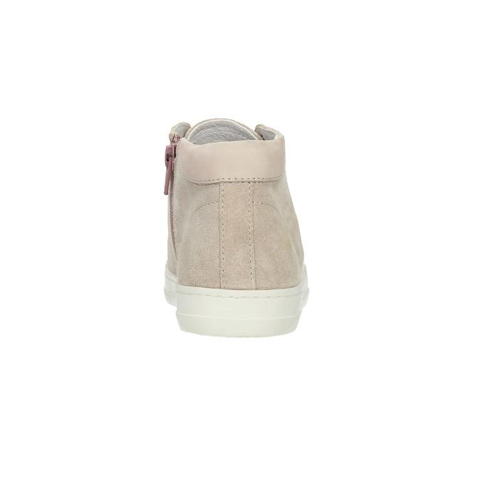 Kotníčkové tenisky se zipem bata, růžová, 523-5602 - 17