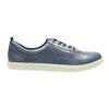 Dámské kožené tenisky modré bata, modrá, 526-9618 - 15