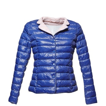 Modrá prošívaná bunda bata, modrá, 979-9206 - 13