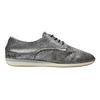Stříbrné kožené tenisky bata, stříbrná, 526-6633 - 15