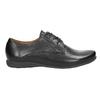 Dámské kožené polobotky bata, černá, 526-6635 - 26