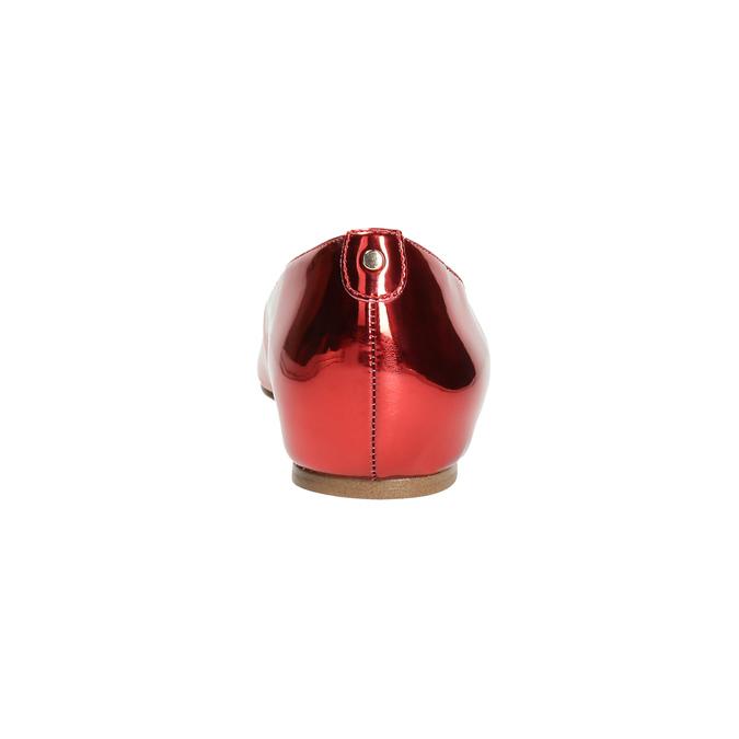 Červené baleríny do špičky bata, 2020-521-5603 - 17
