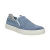 Dámská obuv ve stylu Slip-on bata, modrá, 516-9600 - 13