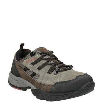 Kožená Outdoor obuv power, hnědá, 803-4118 - 13